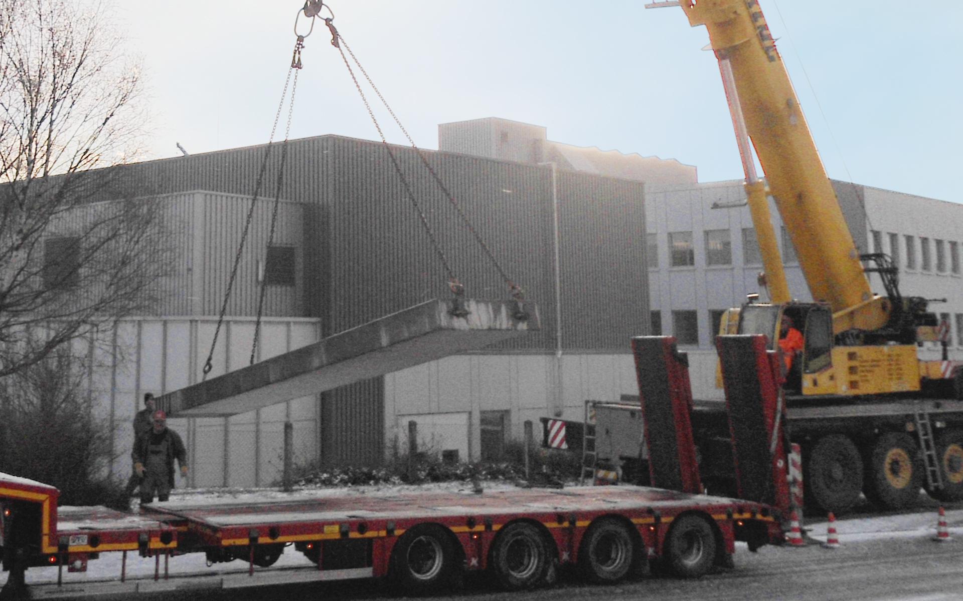 Hochbau Werkhalle LEIN BAU GmbH