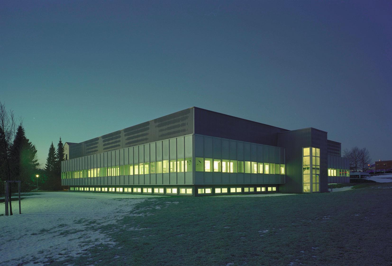 Produktionshalle Naila LEIN BAU GmbH