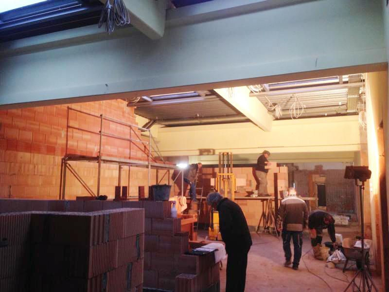 Ausbau der Markthalle zum Bürogebäude
