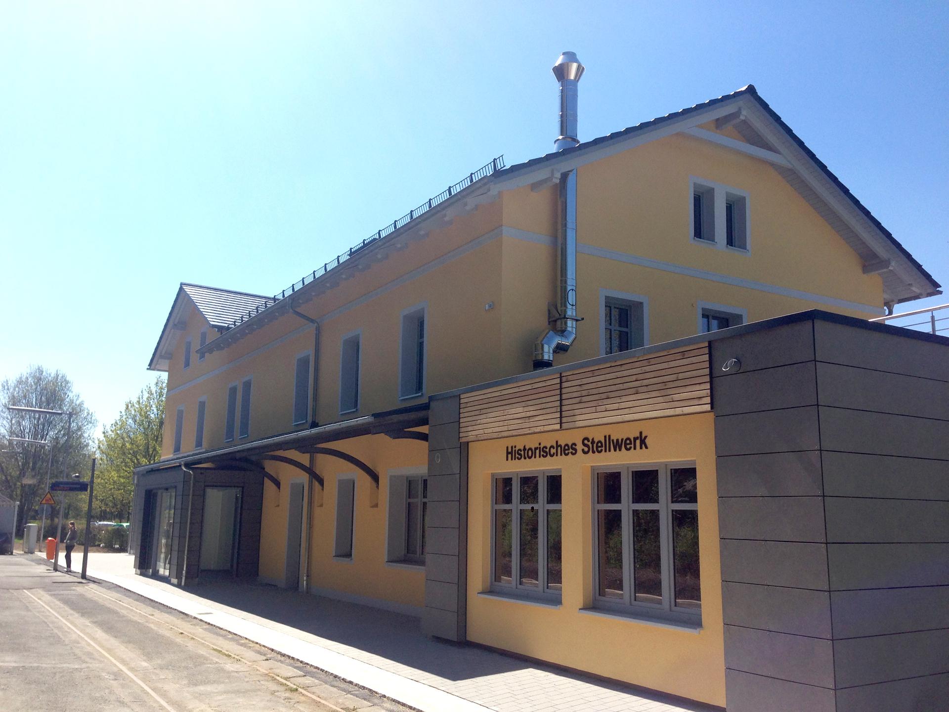 Bahnhof Naila An- und Umbauten