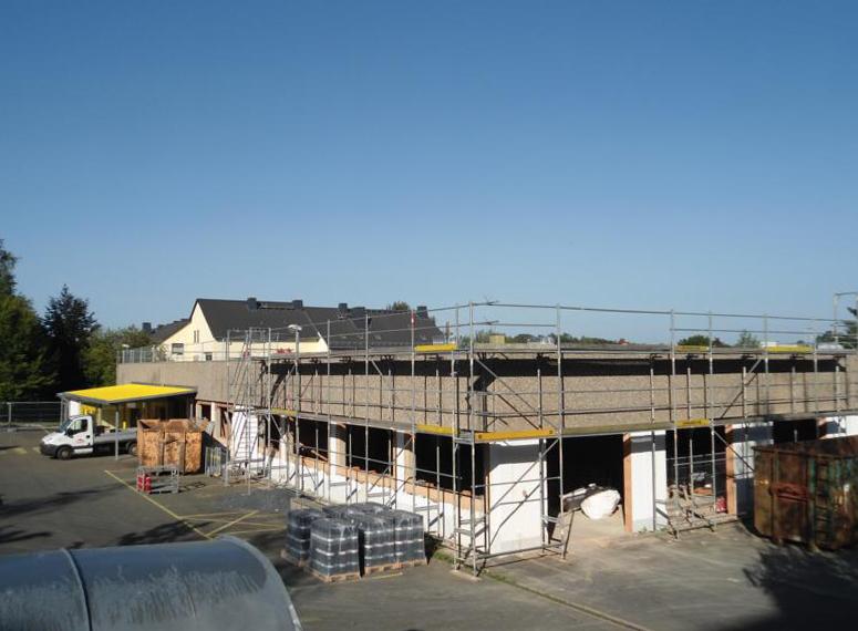 Umbau Markthalle Rehua zum Bürogebäude