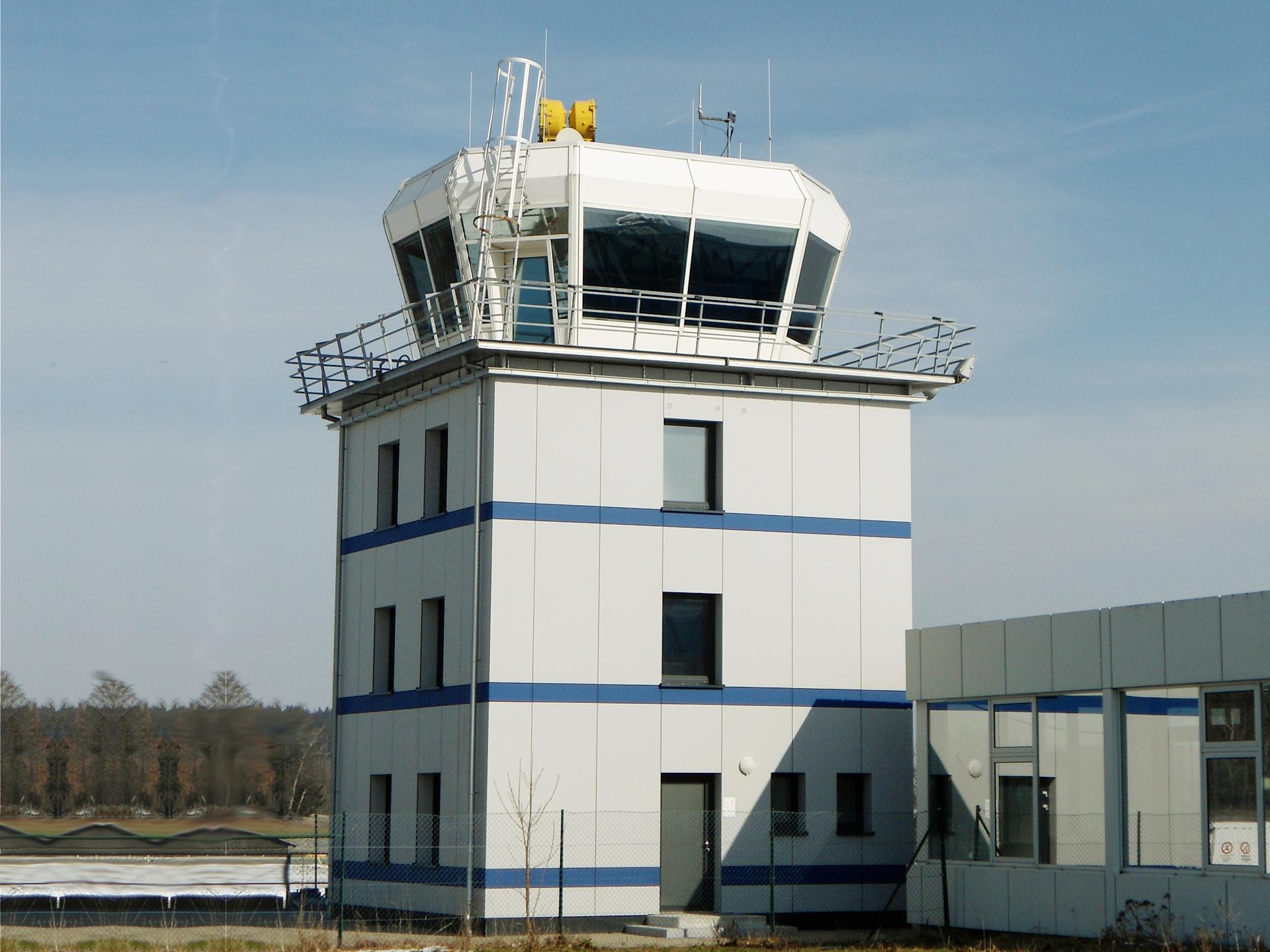 Tower Sanierung Flughafen Hof Plauen